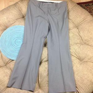 Ann Taylor Dress Pants 12P 12 Petite Wool Stretch